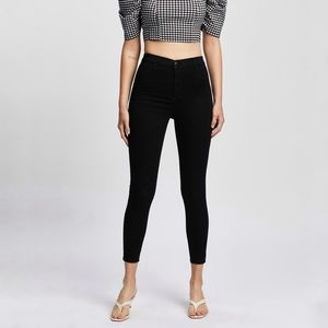 Topshop Joni Super High Waisted Skinny Jeans 0P